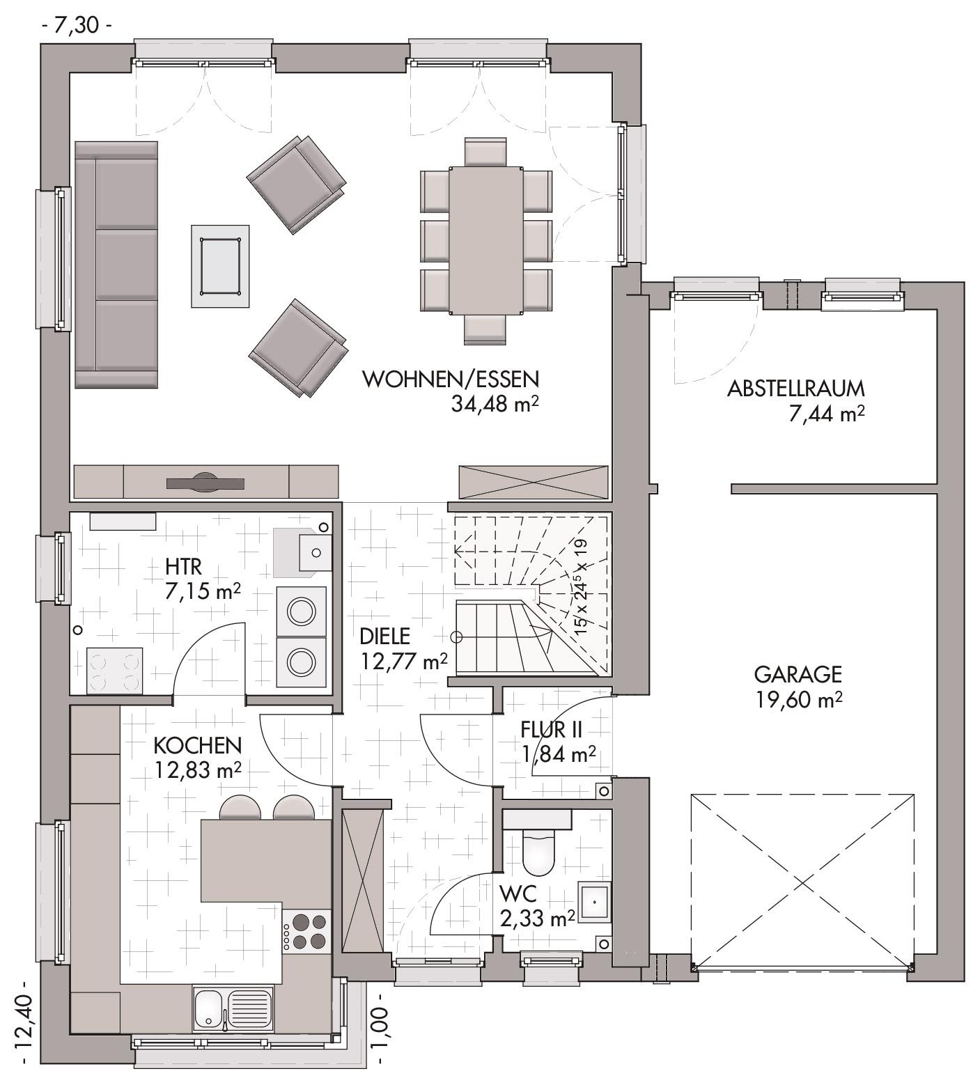 Modern Classic 140 Bauen Im Bauhausstil Mit Eco System Haus