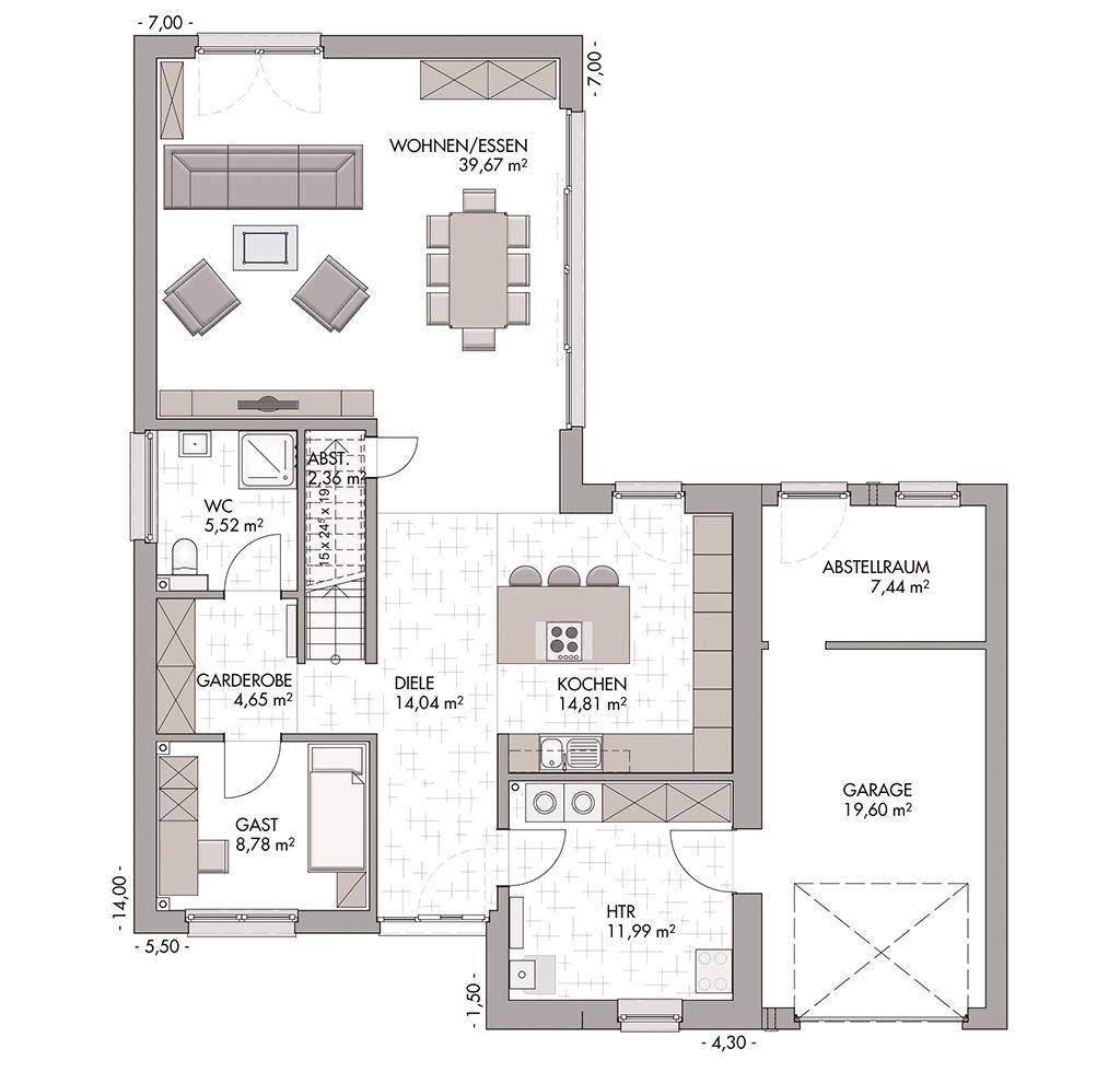 Modern Classic 185 Bauen Im Bauhausstil Mit Eco System Haus