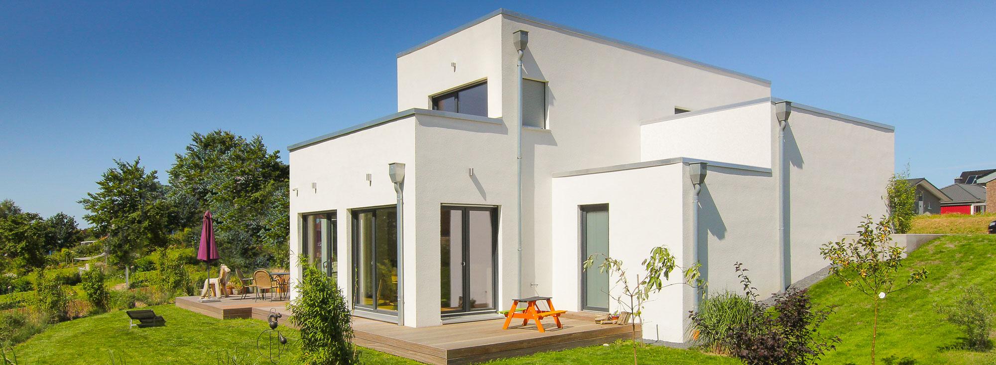 BAUHAUS - MODERN CLASSIC unsere Häuser im Bauhausstil - Bauen im ...