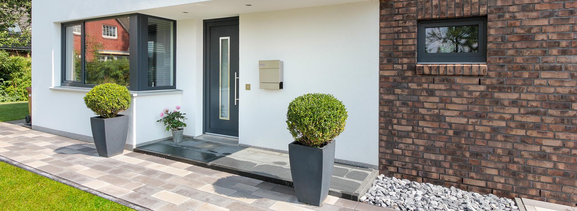 Amüsant Moderne Hauseingänge Sammlung Von Eingang